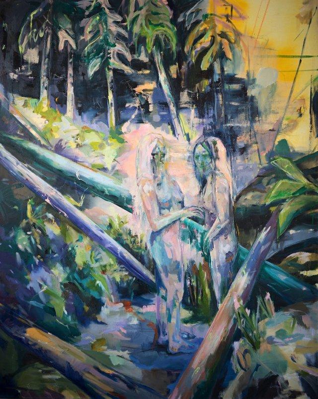 "Madison Tyrell, ""Adorn & Dissolve,"" 2019"