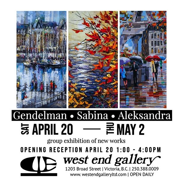 "Gendelman, Sabina & Aleksandra, ""New Works,"" 2019"