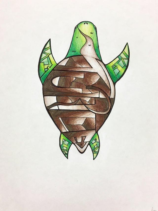 "Ajaira McIntyre, ""Turtle,"" 2019"