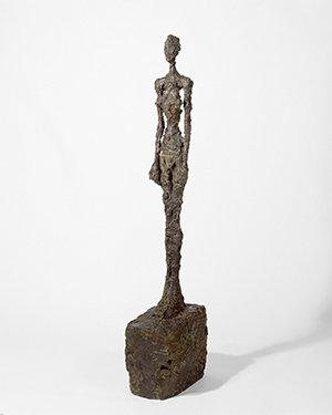 "Alberto Giacometti, ""Standing Woman,"" 1958-59"