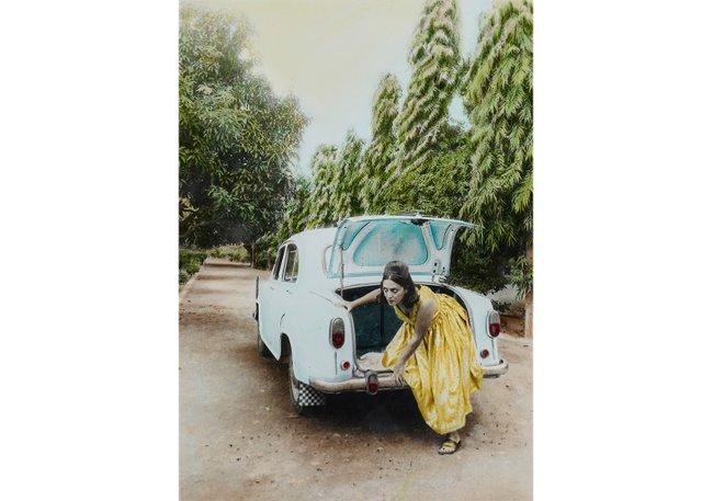 """Pushpamala N, """"Sunhere Sapne (Golden Dreams),"""" 1998"""