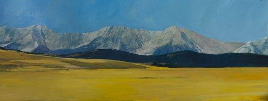 "Philip Craig, ""Grey Mountain,"" 2019"