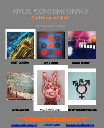"Knox Contemporary Gallery of Art, ""Colour Revelations,"" 2019"