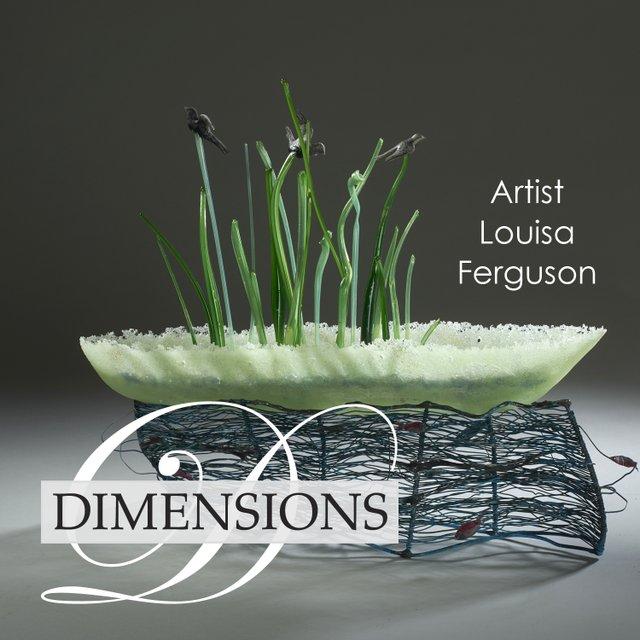 """Louisa Ferguson, """"Dimensions,"""" 2019"""