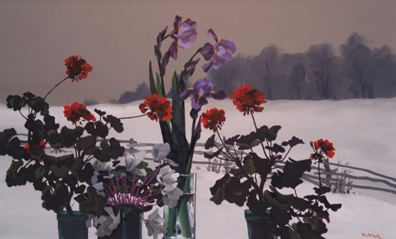 """Winter Windowsill"""