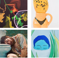 "South Main Gallery,"" Group Show Julia Cundari, Jackie Dives, Ivana Sepa,  and David Vegt,"" 2019"
