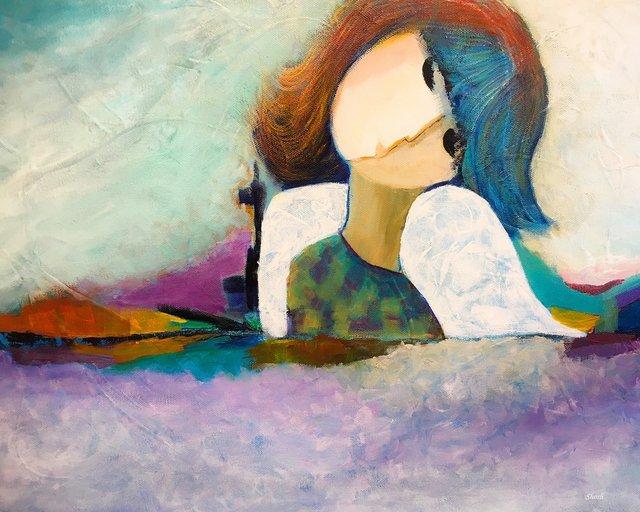 "Shosh Shalev-Minuk, ""Glimpse of Heaven,"" 2019"