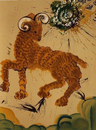 "Salvador Dali, ""Aries,"" 1967"