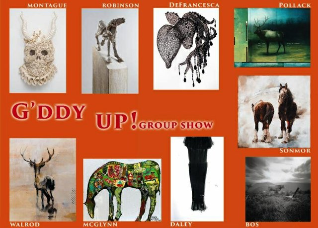 """NewZones, """"G'ddy Up!, Group Show,"""" 2019"""