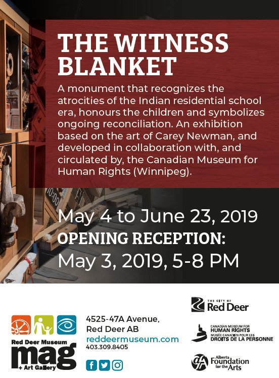 "Red Deer Museum and Art Gallery, ""the Witness Blanket,"" 2019"