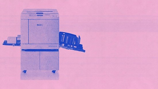 """AKA Gallery, """"Throw out your masters: Risograph printing across North America,"""" 2019"""