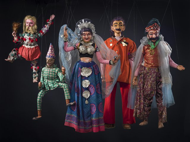 String puppets. By unknown makers (Sinhalese)