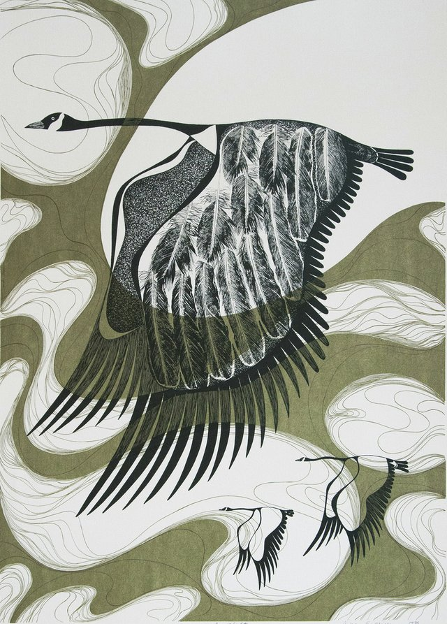 "Pnina Granirer, ""In Flight,"" 1976"
