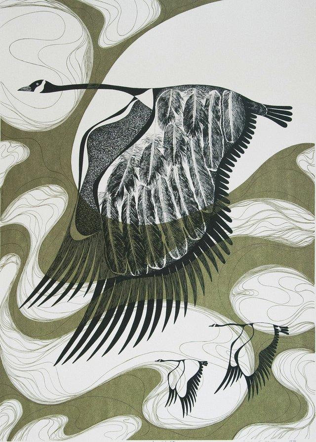 "Pnina Granirer, ""In Flight,"" 1976"
