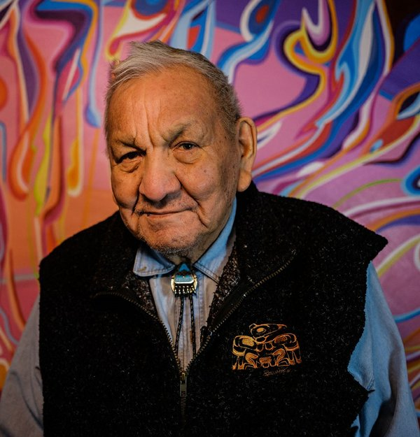 Alex Janvier (photo by Abdul Malik)