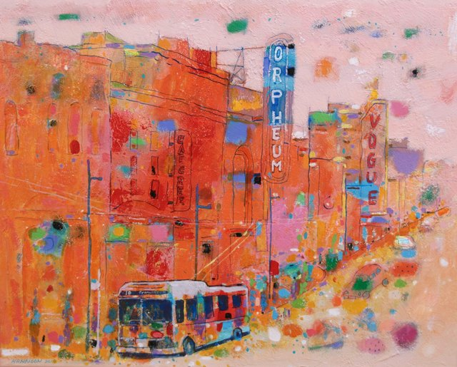 "Hashim Hannoon, ""Granville Street,"" 2019"