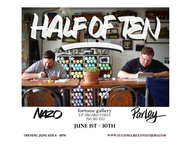 """Nathan and Kristofer, """"Half of Ten,"""" 2019"""