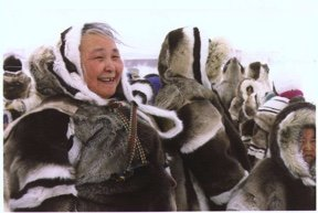 "Isuma, ""On location filming Nunavut Stories,"" 1995"