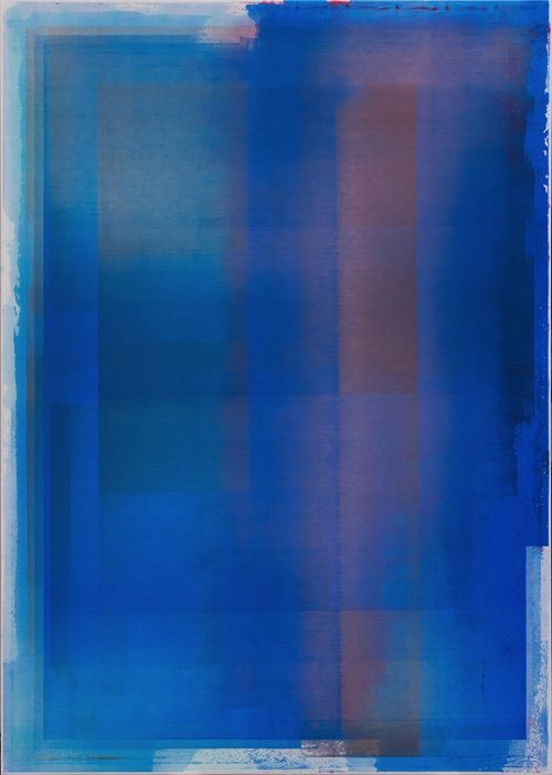 "Jonathan Forrest, ""Blue Blue Electric Blue,"" 2019"