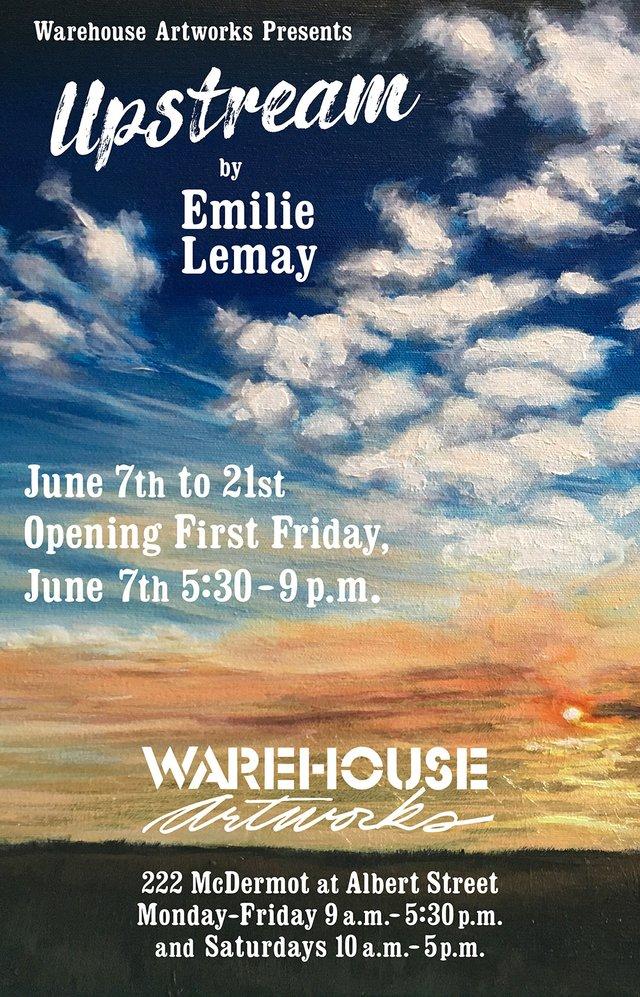"Emilie Lemay, ""Upstream,"" 2019"