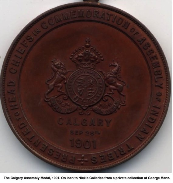The Calgary Assembly Medal, 1901