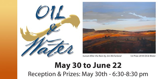 "South Delta Artists Guild, ""Oil and Water,"" 2019"