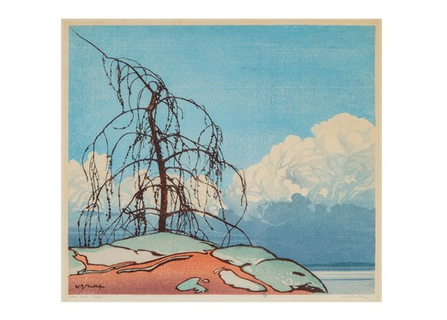 "Walter Joseph Phillips, ""Jack Pine,"" undated"