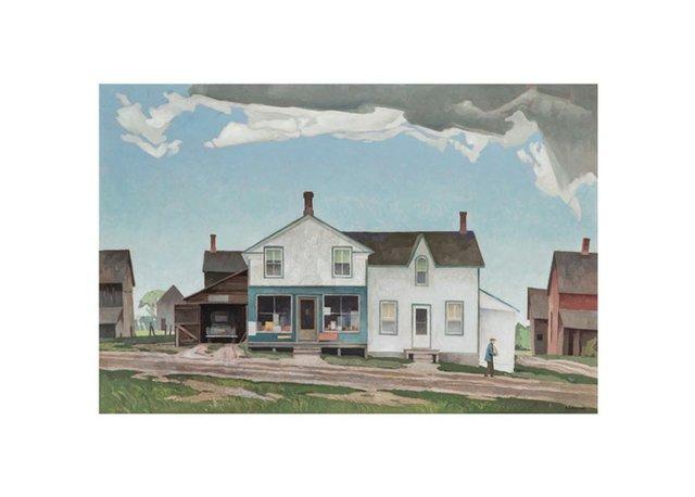 """Alfred Joseph Casson, """"Roadside Store,"""" 1961"""