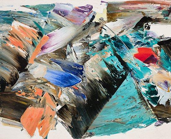 """Marcelle Ferron, """"Sans titre,"""" 1962"""