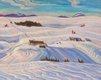 """Alexander Young Jackson, """"Laurentian Hills,"""" 1932-1933"""