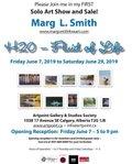"""Marg L. Smith, """"H2O - Fluid of Life,"""" 2019"""