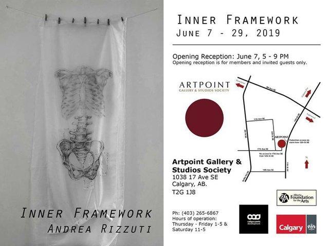 """Andrea Rizzuti, """"Inner Framework,"""" 2019"""