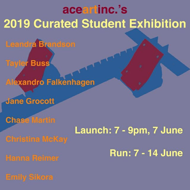 2019 Curated Student Exhibition
