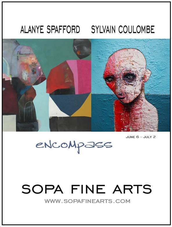 """Alayne Spafford & Sylvain Coulombe, """"encompass,"""" 2019"""