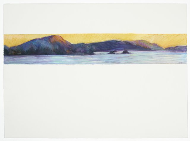 "Susan Benson, ""Sunset Coast,"" 2019"