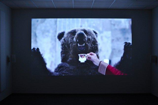 """Marja Helander, """"Dolastallat (To have a campfire),"""" 2016"""