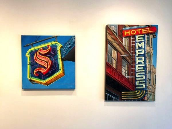 """Will Rafuse, """"The Sylvia Hotel and The Empress,"""" 2019"""