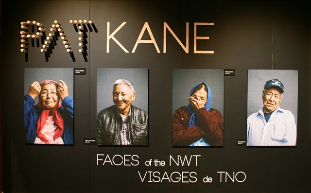 """Pat Kane, """"Faces of the NWT,"""" 2019"""