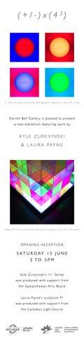 Kyle Zurevinski + Laura Payne = (+/-) × (4^3)