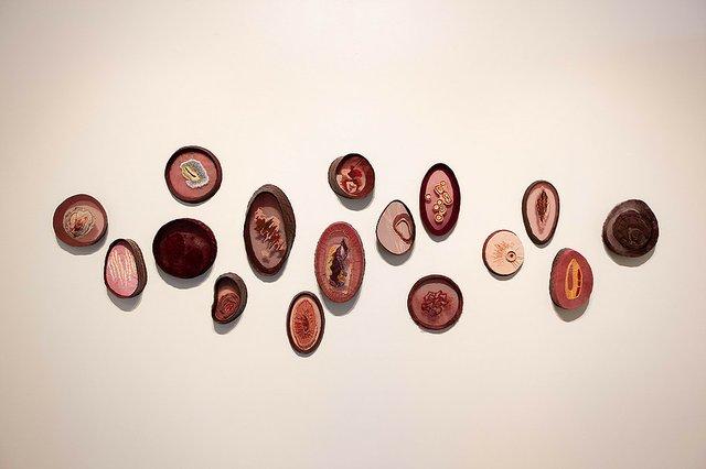 "Alex Bailey, ""Embroidery Series: Portraits,"" 2019"