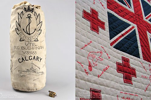 Keepsakes of Conflict and Red Cross Quilts, 2019