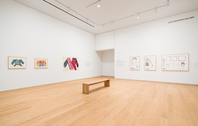 "Installation view, ""Ruth Cuthand: Artist in Focus,"" Remai Modern, Saskatoon, 2019. (photo by Blaine Campbell)"