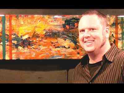 """Alan Fulle """"Stripes and Dots"""" May 10 - June 4, 2011 video"""