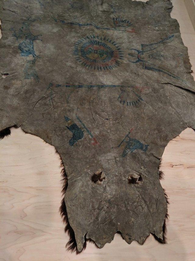 "Tatanka Iyotake (Sitting Bull), ""Buffalo Robe,"" circa 1877-1881"