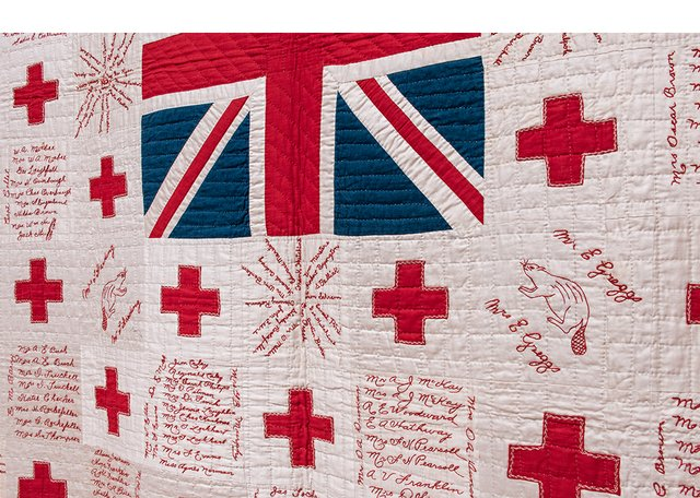 """""""Keepsakes of Conflict""""and""""Quilting for a Cause,"""" 2019"""