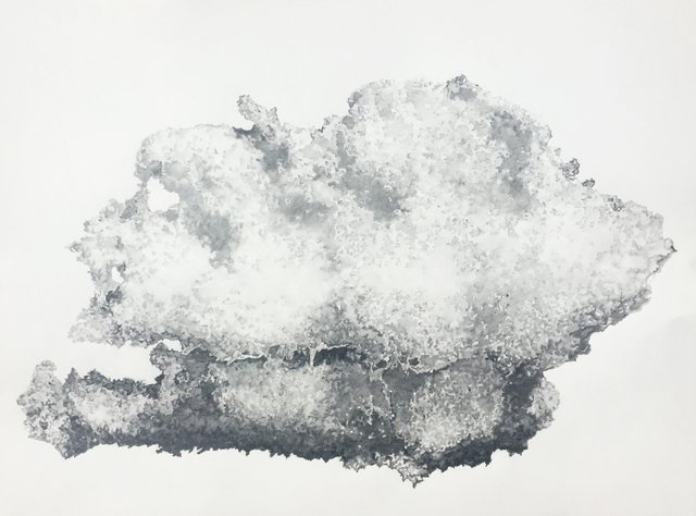 "Christine Kirouac, ""Spring, Snow, Cloud,"" 2019"