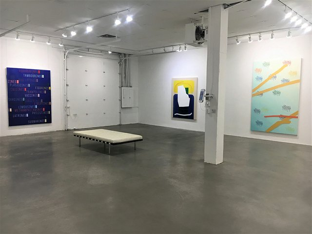 """HKG, """"Damn Good Paintings,"""" 2019"""