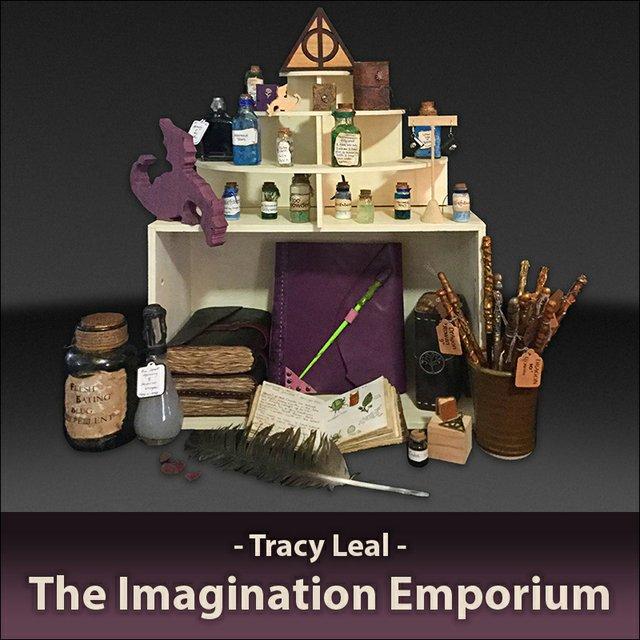 """Tracy Leal, """"Imagination Emporium,"""" 2019"""