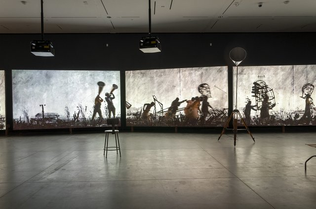 "William Kentridge, ""More Sweetly Play the Dance,"" 2015"