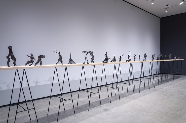 "William Kentridge, ""Procession,"" 1999-2000"